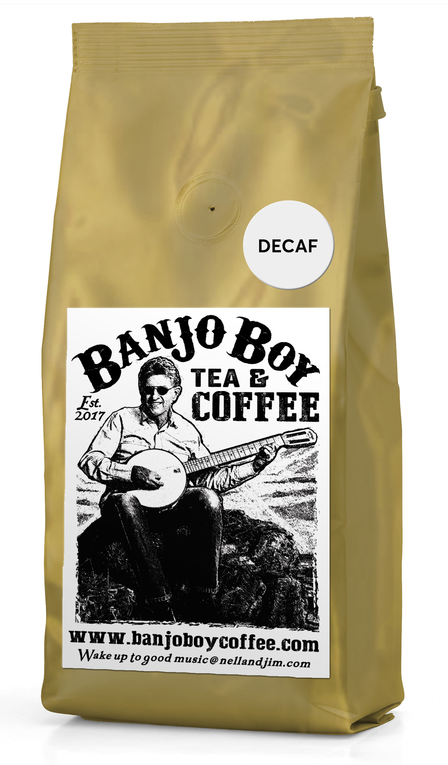 Decaf Blend - All of the same great quality and flavor but without the caffeine.