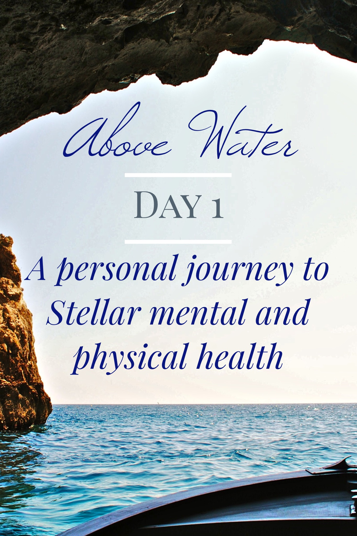 How  to start on a total physical and mental health journey. Day 1