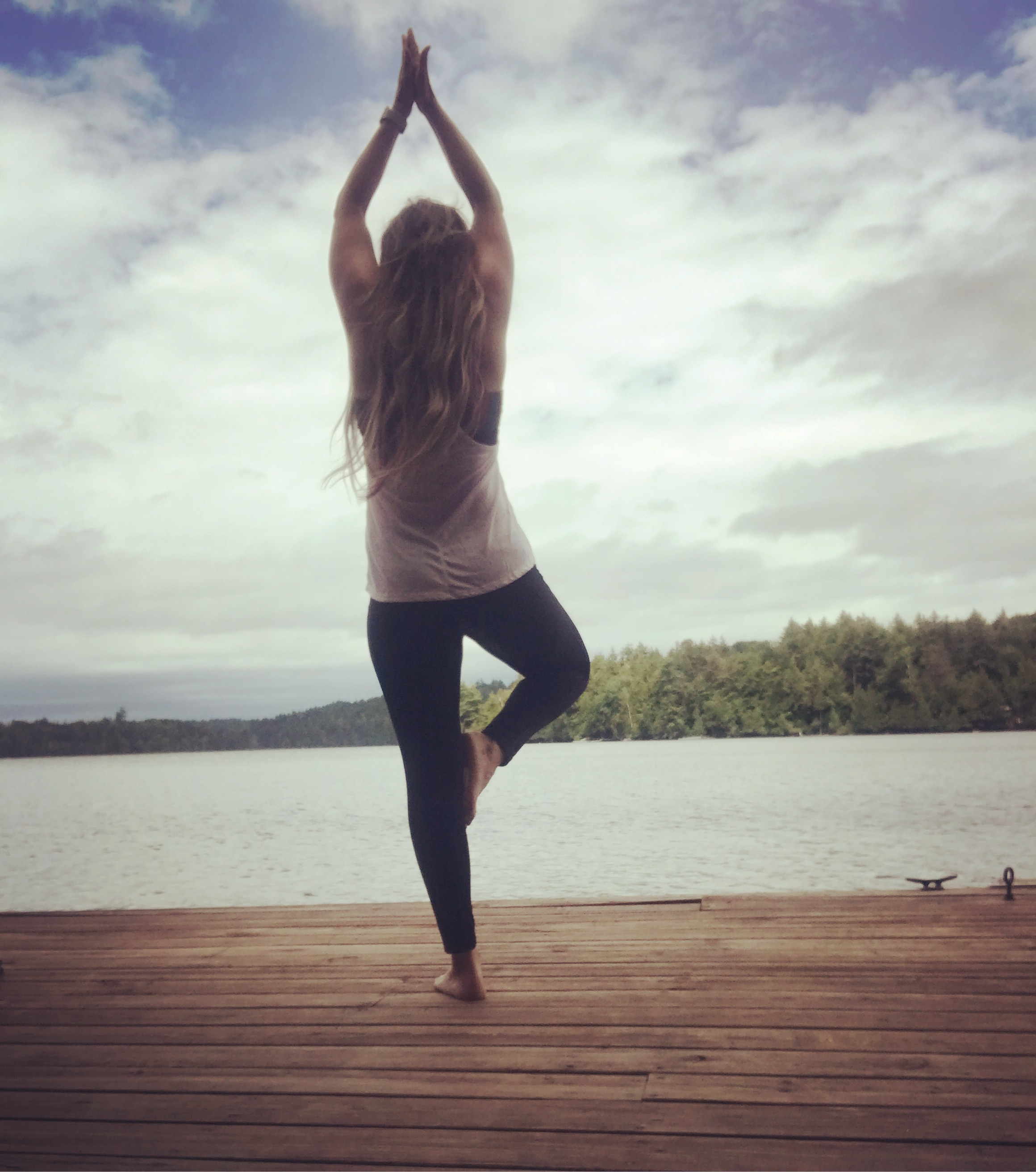 Yoga and Meditation on the Dock - On our most recent trip to upstate, NY, I dove into learning more about meditation. Rain or shine, I took the time everyday to tame my brain and find peace.