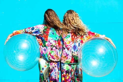 Rainbow Vomit , Georgia Rudd, Jenni Large. Presented at Dance Massive Tour Ready – Meet & Greet 2017 by Dancenorth. Image by Amber Haines.