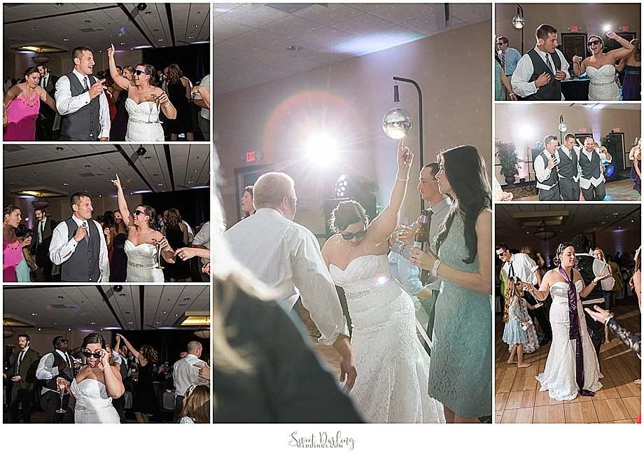 reception dance at Hilton Garden Inn