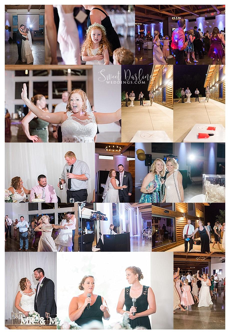Dancing at Pear Tree wedding reception