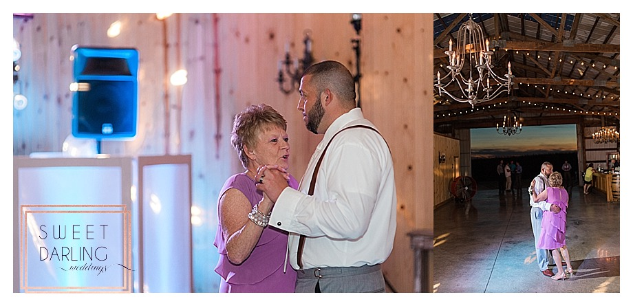 mother son dance at wedding