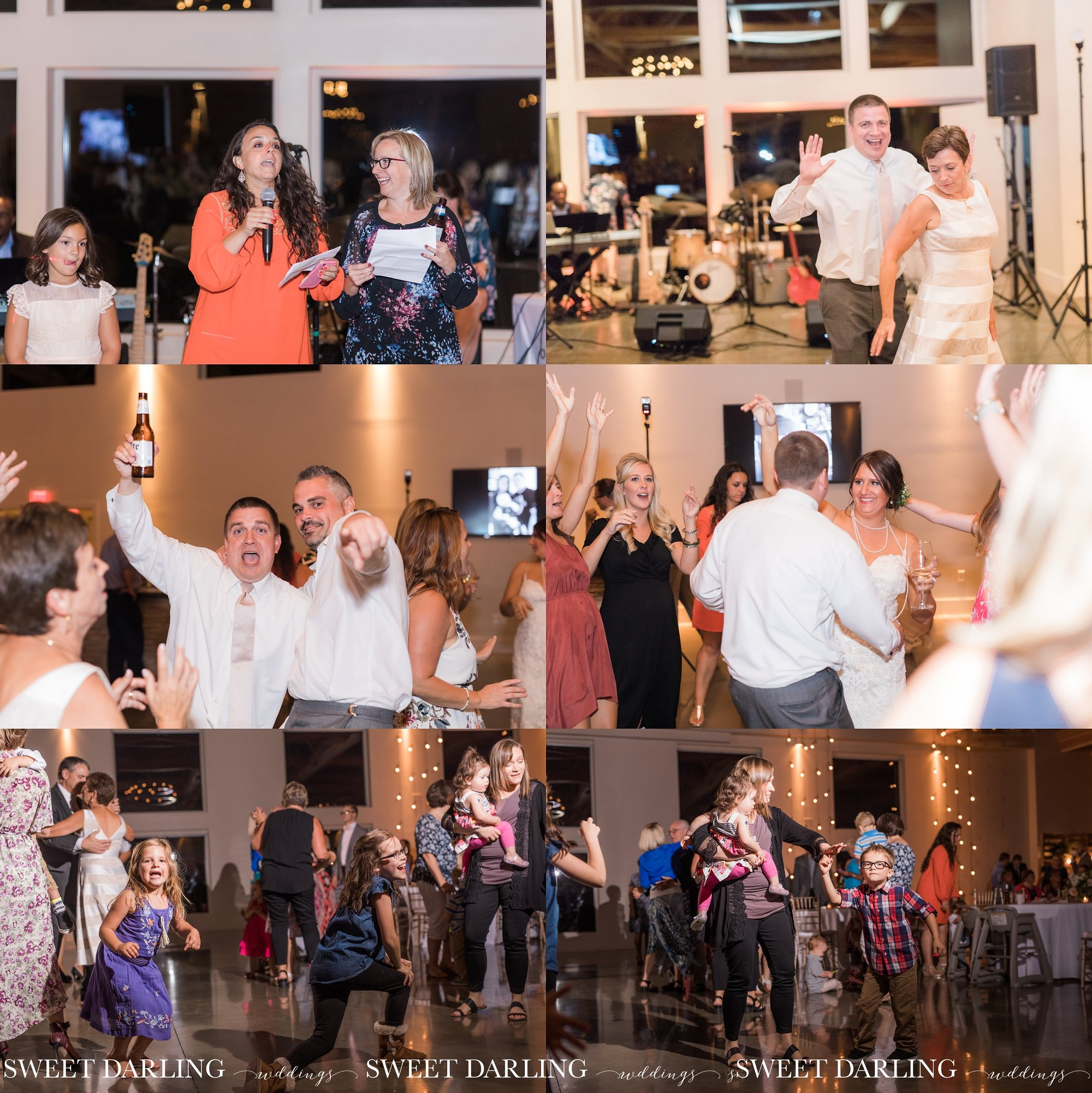 Dancing the night away at pear tree estate