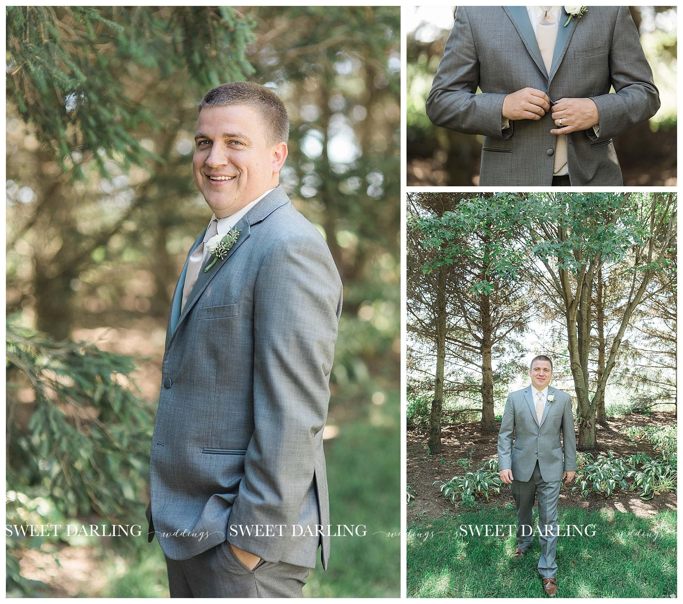 Groom photos at pear tree estate