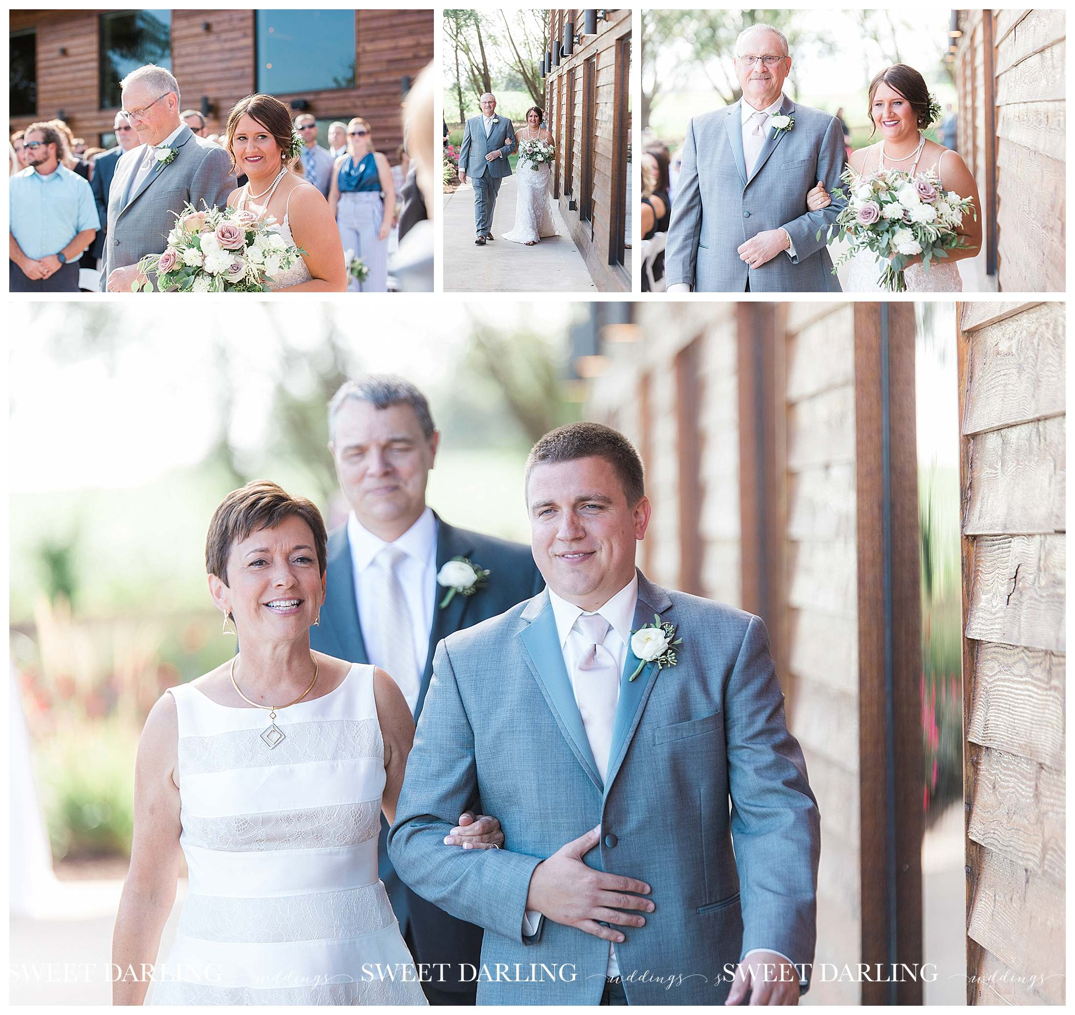 Groom with mom at pear tree estate