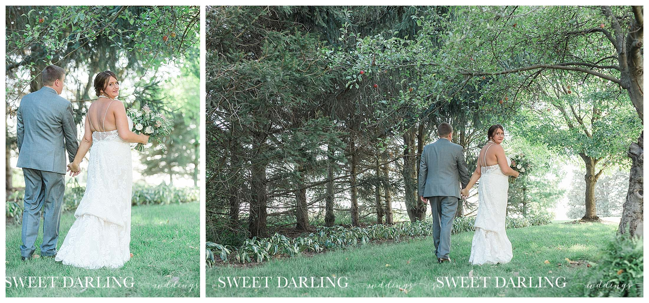 Bride and Groom photos at pear tree esate