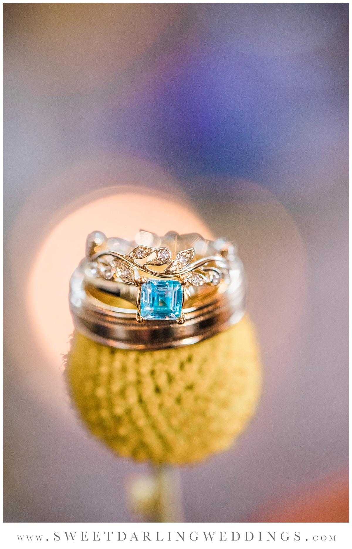 Boho wedding band from Champaign Jewelers at Pear Tree Estate