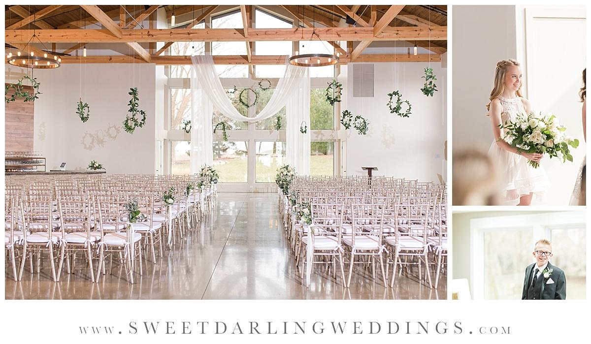 Wedding Ceremony at Pear Tree Estate