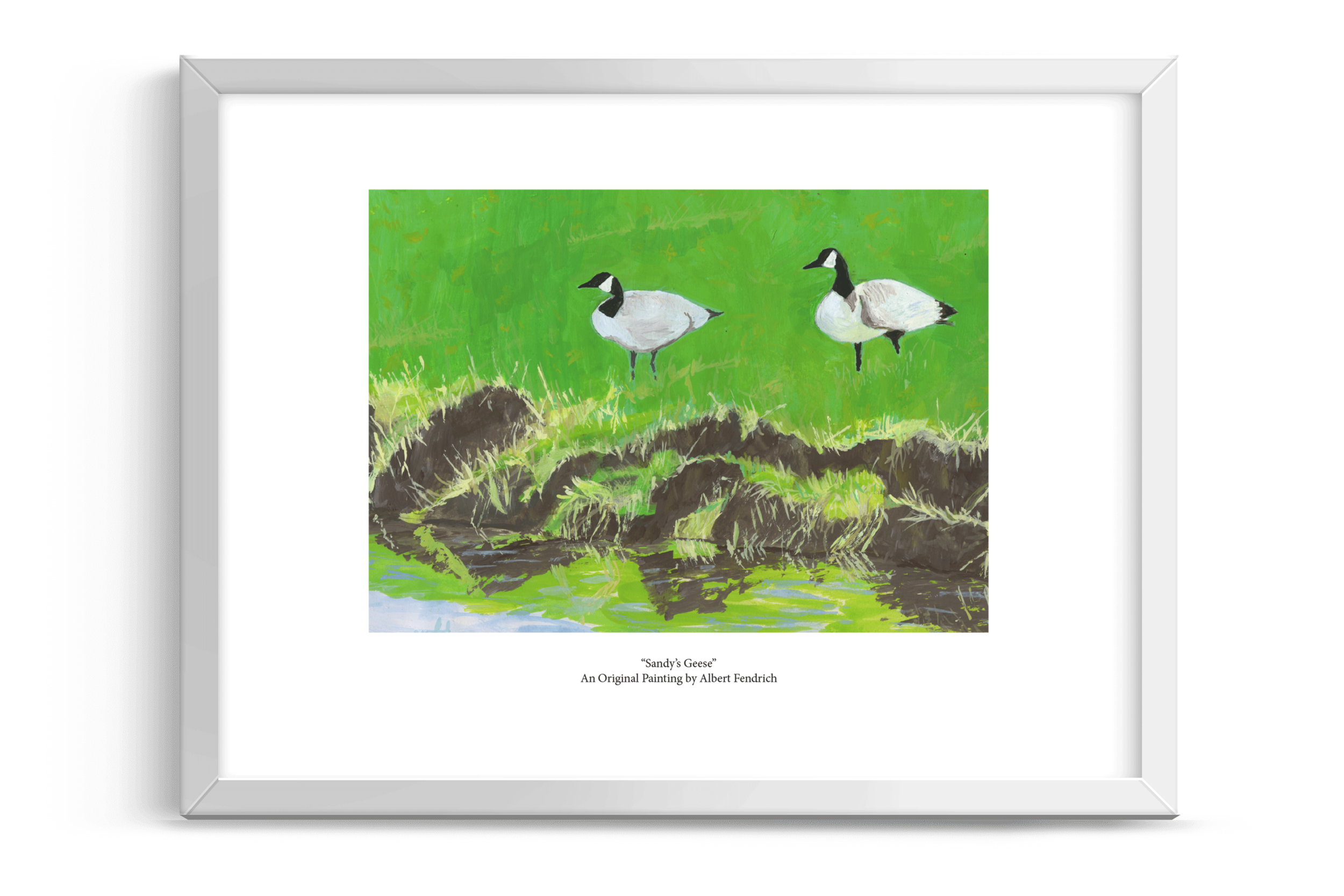 Sandy's Geese