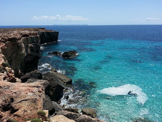 Beach Cala Blue Water Mallorca