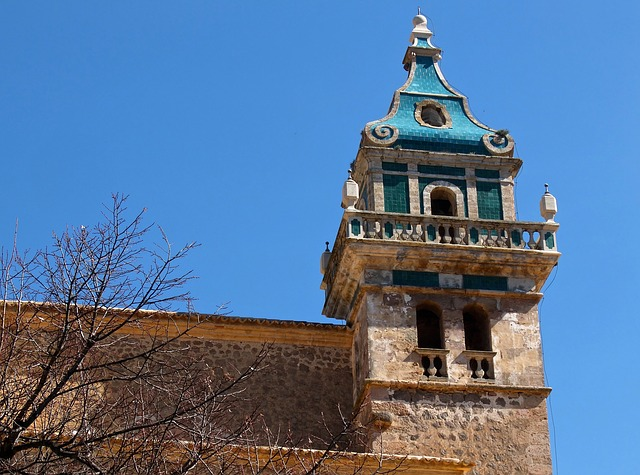 Church Bell Tower Mediterranean Tower Great