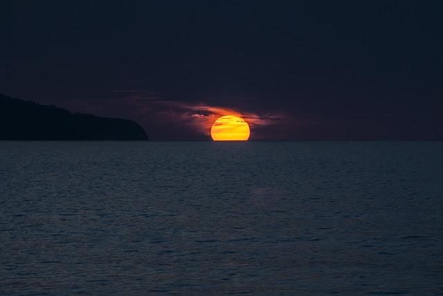 Azores Portugal Ocean São Miguel Sol Sunset