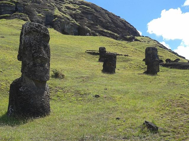 Chile Rapa Nui Rapa Moai Easter Island Nui