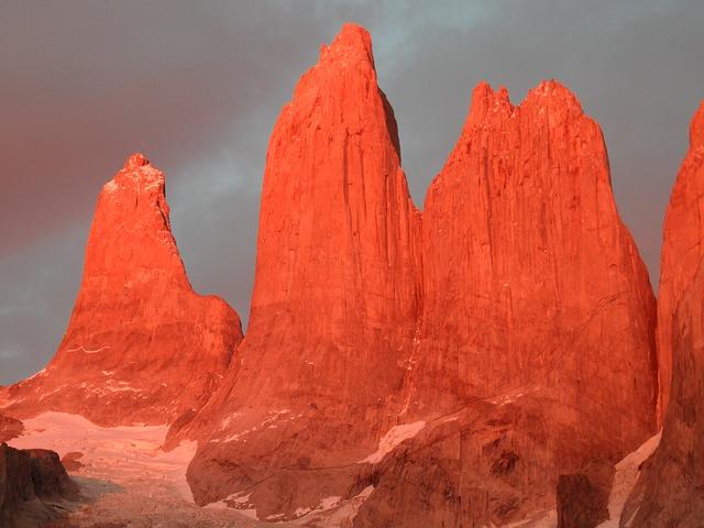 Granite Rock Torres Del Paine Granite Mountains