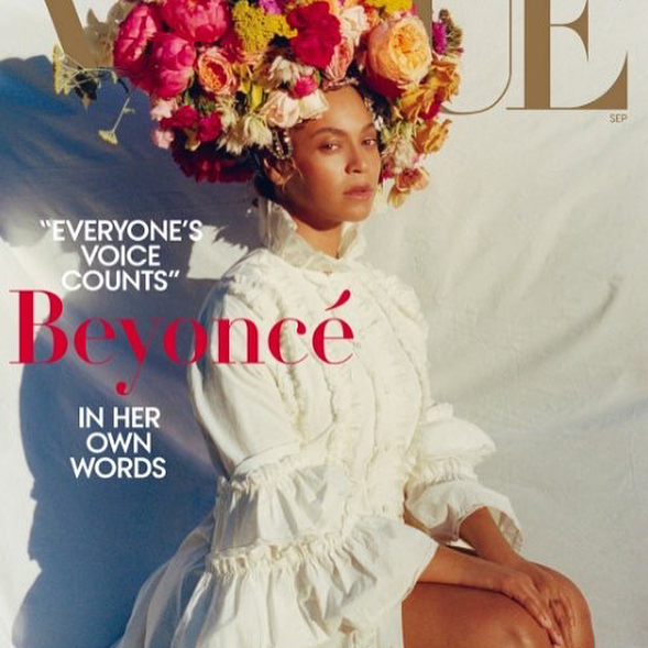 """""I come from a lineage of broken male-female relationships, abuse of power, and mistrust. Only when I saw that clearly was I able to resolve those conflicts in my own relationship. Connecting to the past and knowing our history makes us both bruised and beautiful."" - @beyonce for @voguemagazine —————————————- We think this is our favourite interview, generational curses can be debilitating and we're happy too see that @beyonce is not afraid of speaking against them. Wishing lots of love and healing to her and her family."