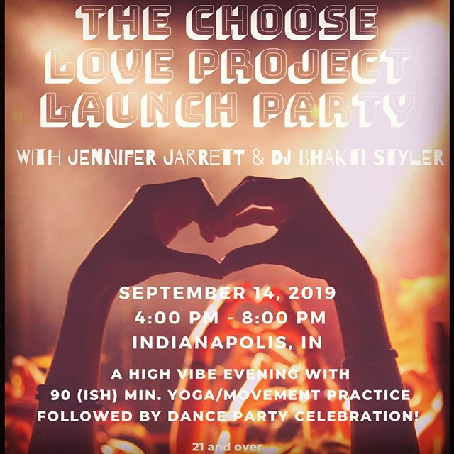 Pre-released a new 75+ minute yoga flow mix from Indianapolis today!  We are less than 24 hours away from a very special evening at the @thevogueindy - the magical @jenniferjarrettwellness will be teaching and I'll be spinning the tunes into the night.
