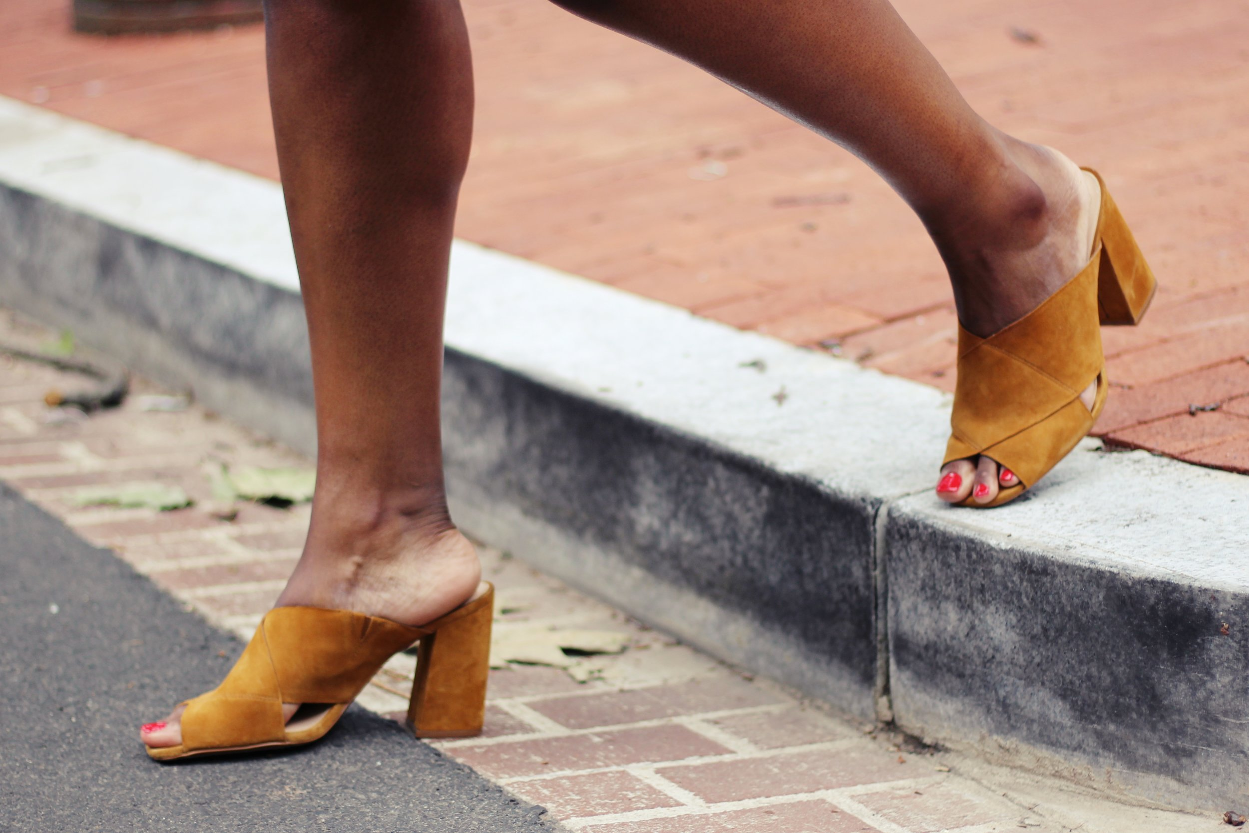 Charmant Style Mules