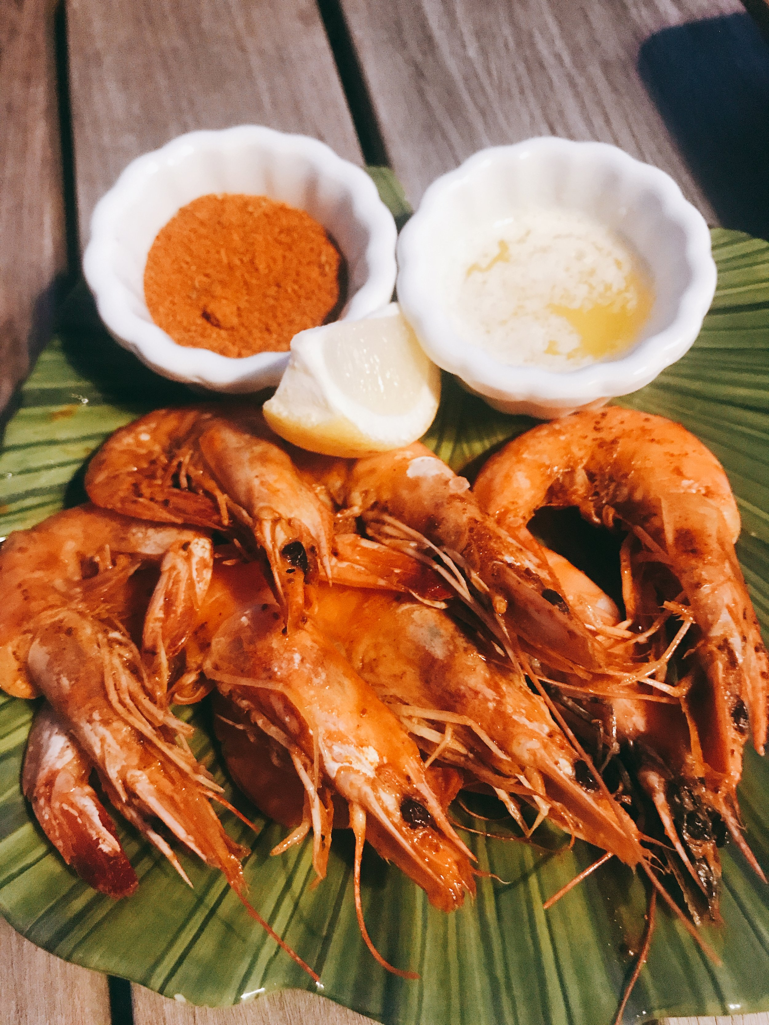 Hot and Peel Shrimp