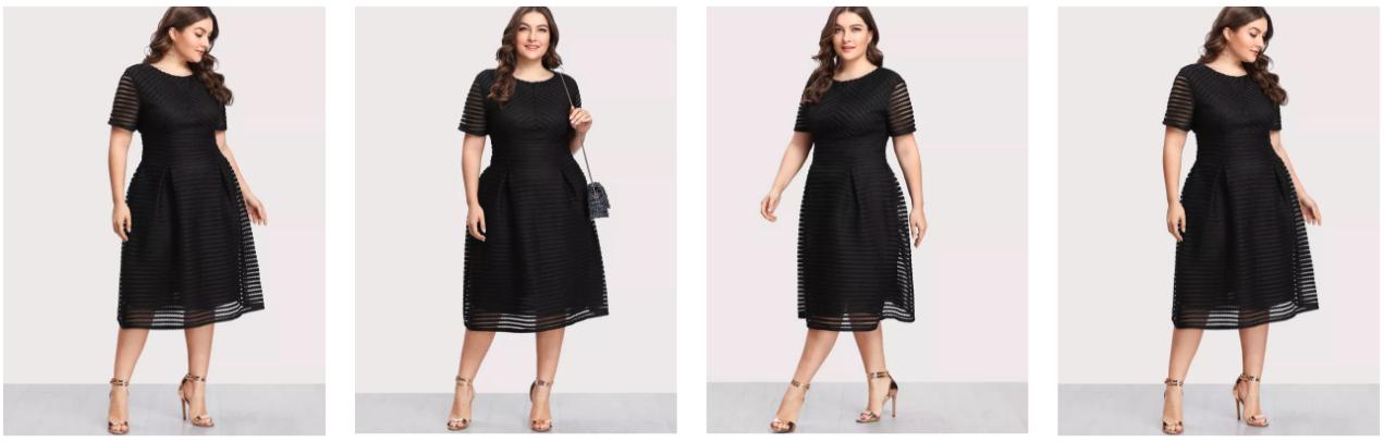 Charmant Style SheIn Dress