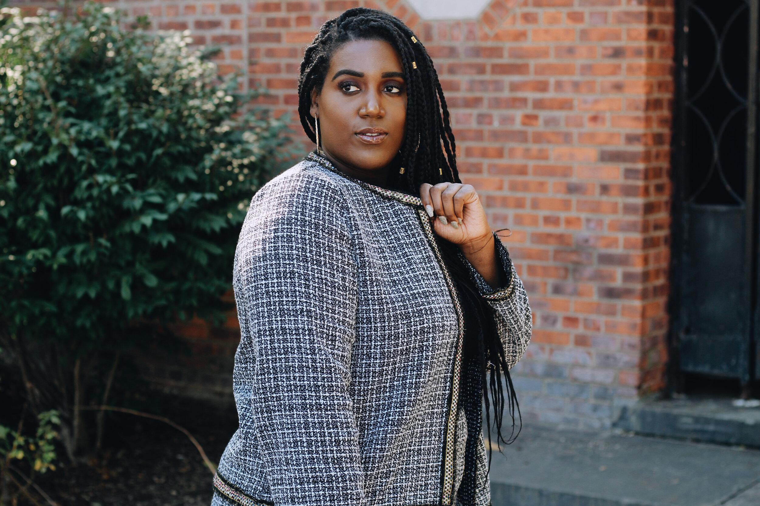 Black Fashion Blogger Charmaine Charmant