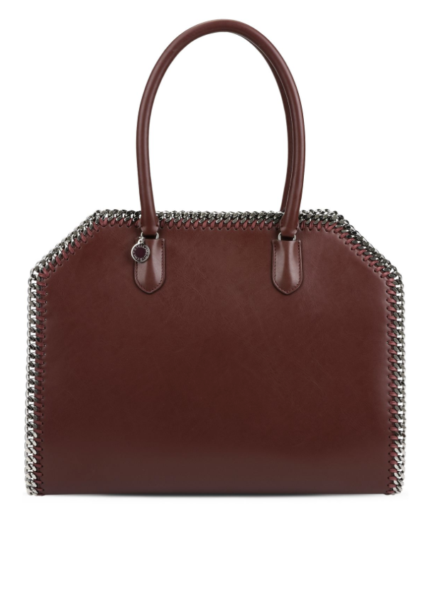 Best Vegan Leather Bag: Bordeaux East West Alter Napa Tote by Stella McCartney