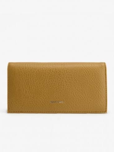 Best Vegan Leather Wallet:  Reid Pomelo by Matt & Nat