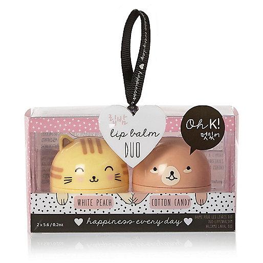 Lip Balm Duo - £9