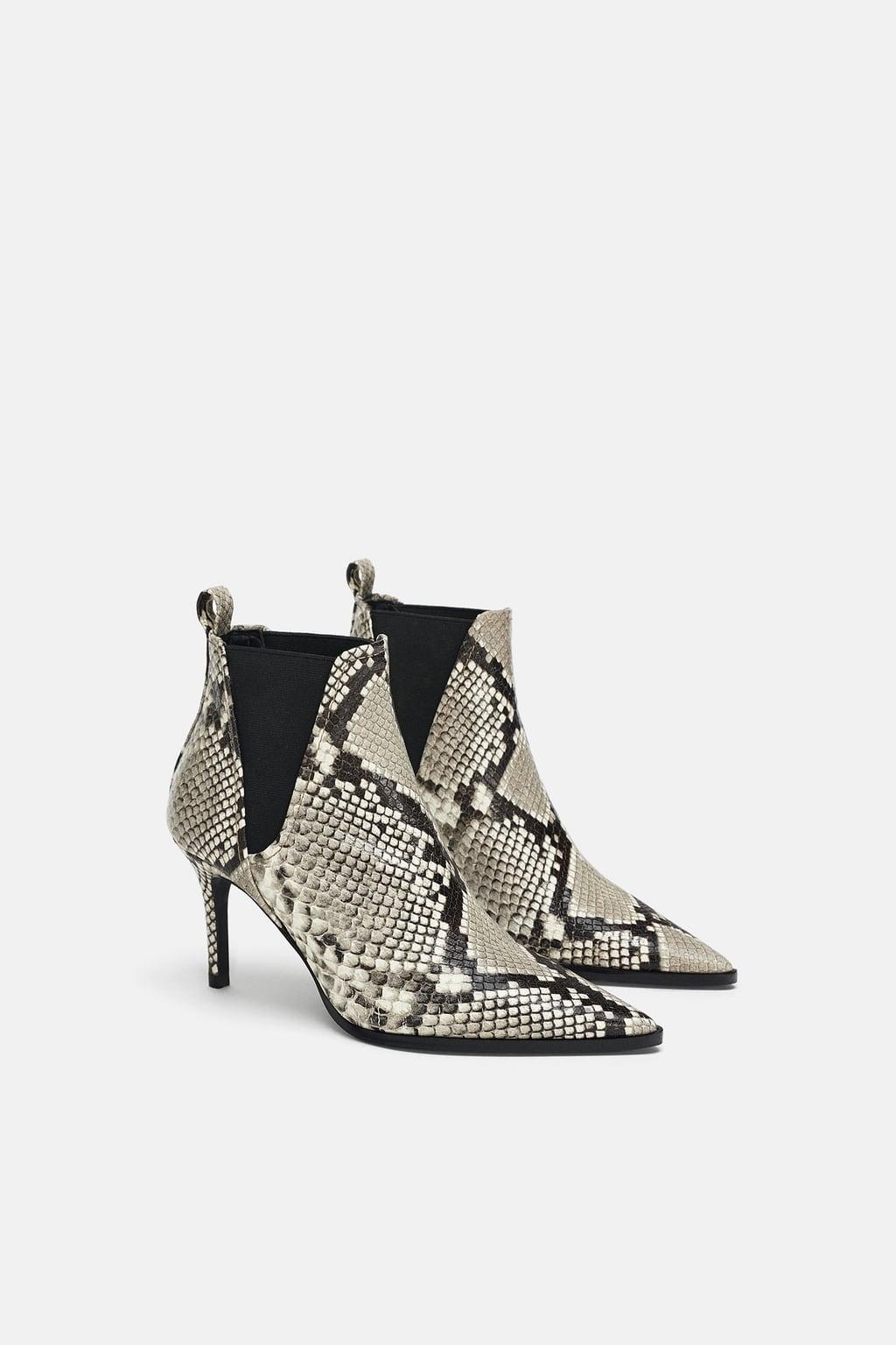Snakeskin Boots - £59.99