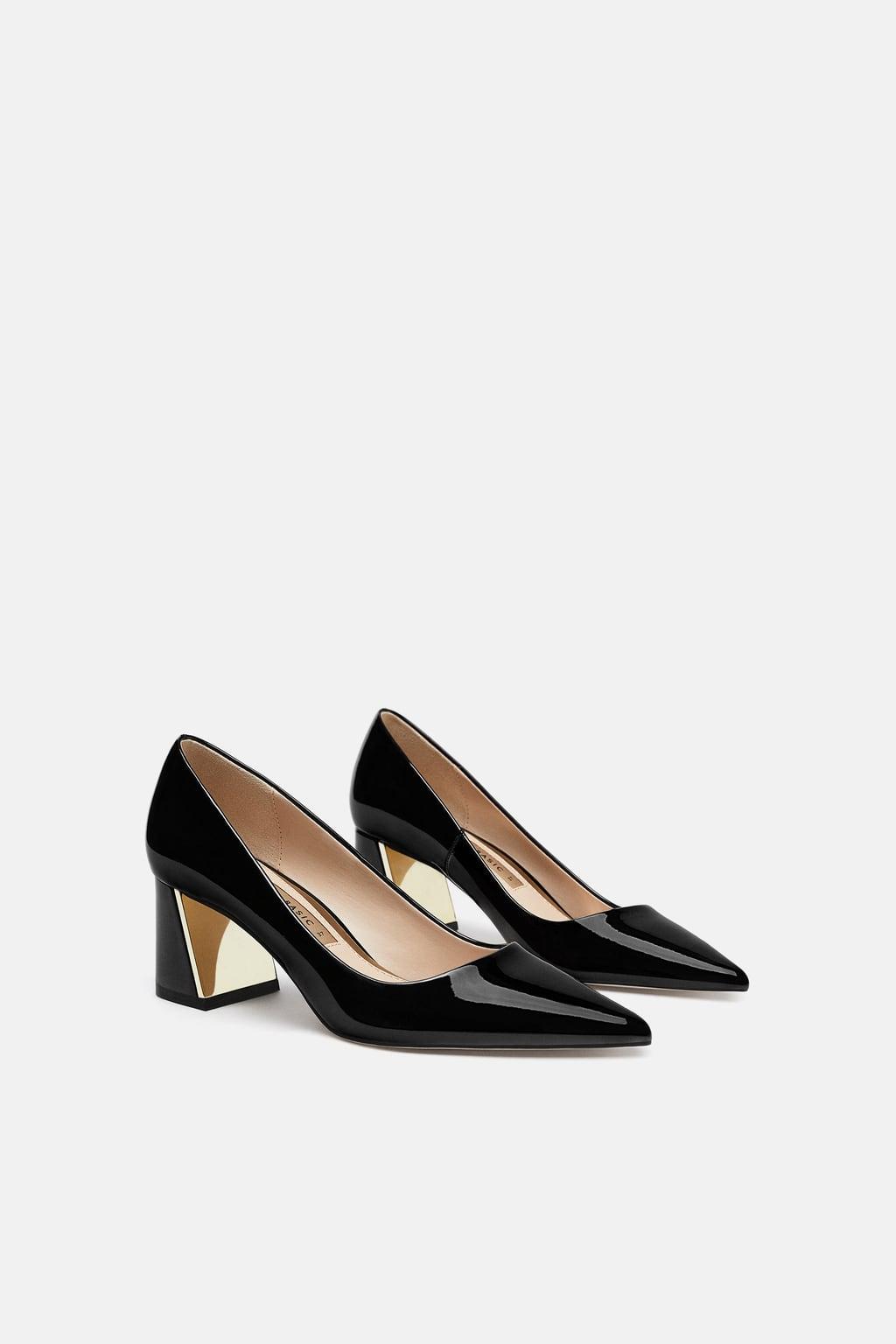 Block Heel Shoes - £19.99