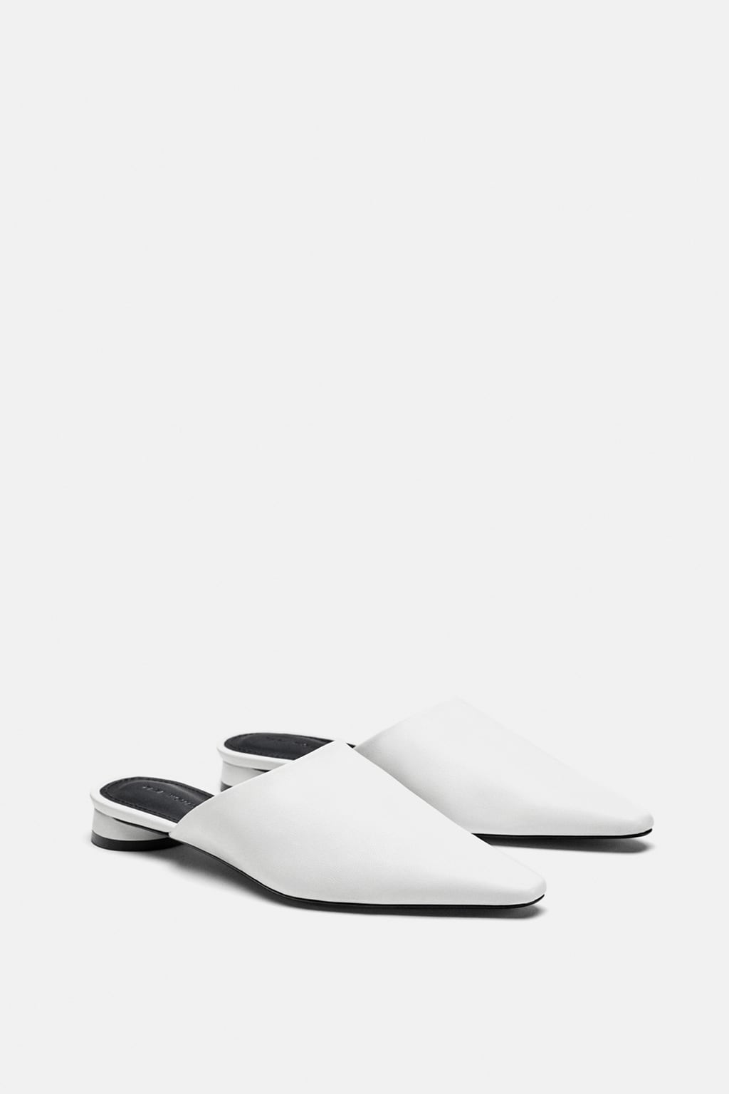 Leather Mules - £19.99