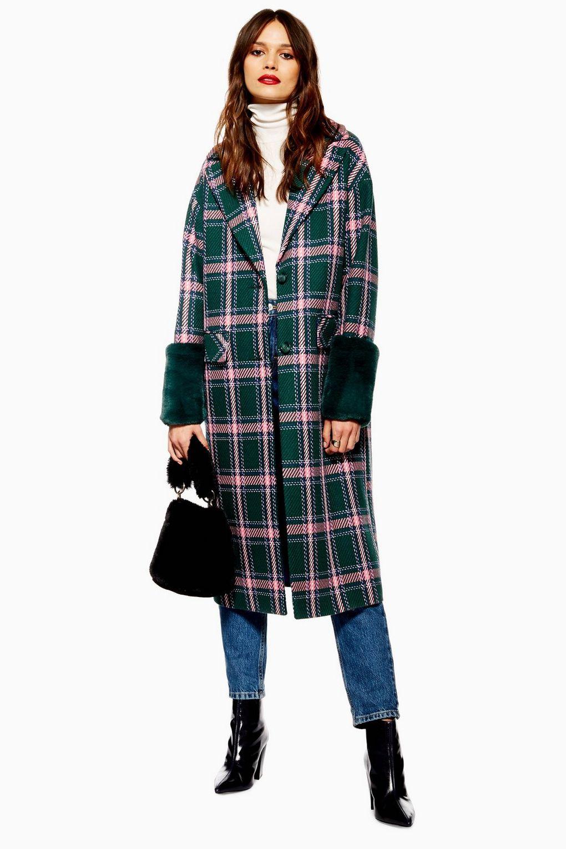 Check Coat - £60