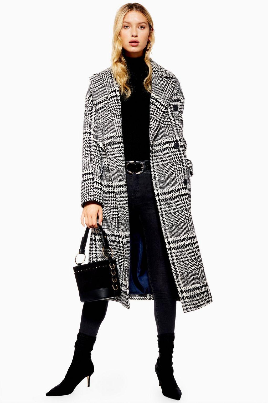 Checked Coat - £45