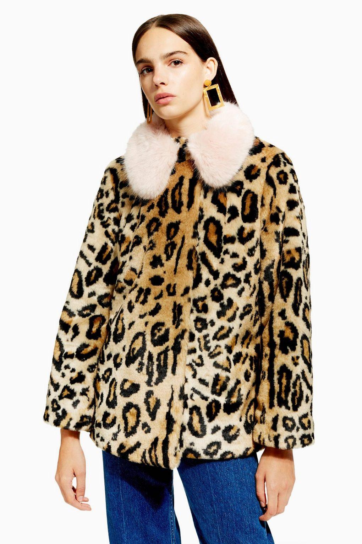 Faux Fur Coat - £25