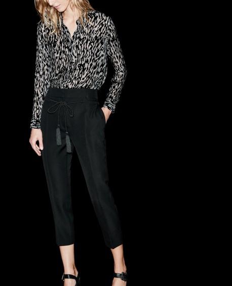 Black Wool Trousers - £109