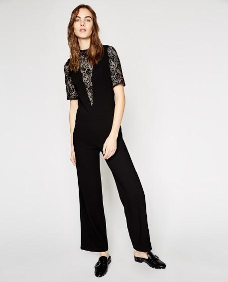 Black Jumpsuit - £163.50