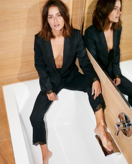 Lace Suit Trousers - £112.50