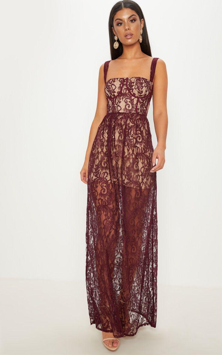 Lace Maxi Dress - £17