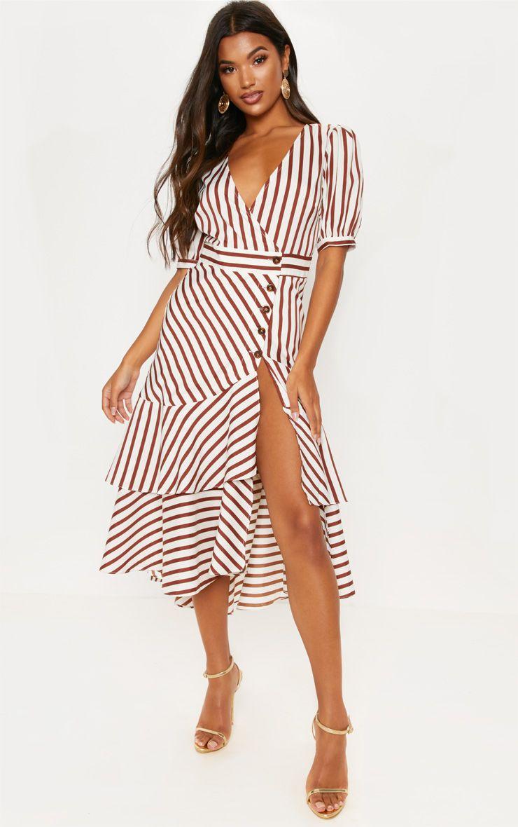 Ruffle Dress - £18