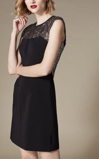 Lace Pencil Dress - £75