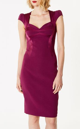 Satin Dress - £50