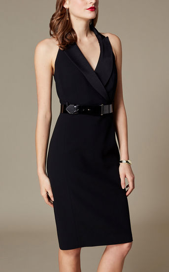 Tuxedo Dress - £115