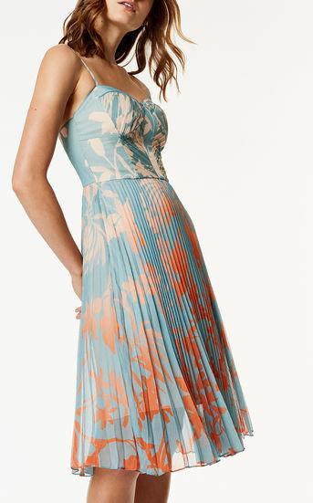 Pleated Dress - £130