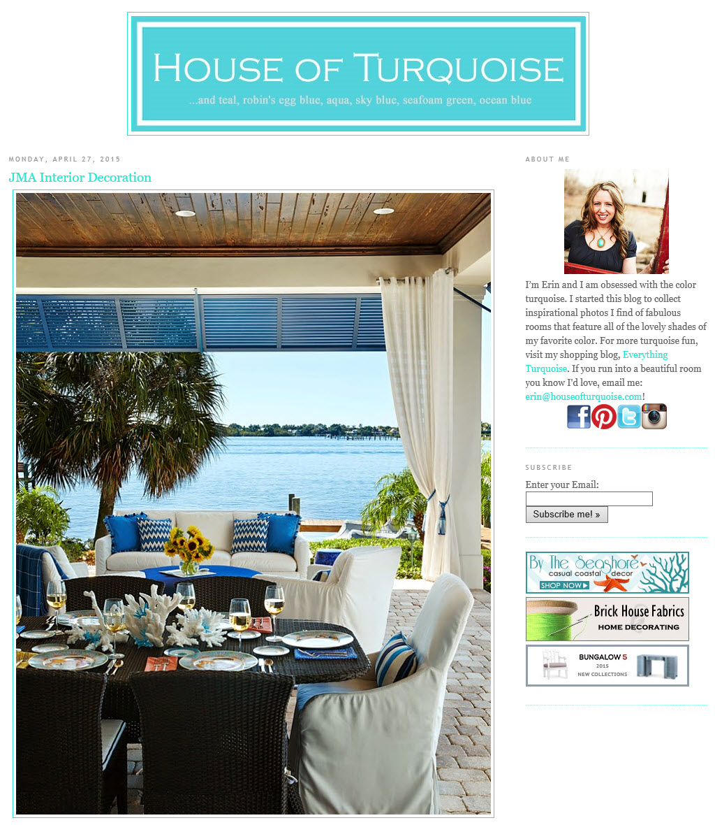 House of Turquoise April 2015