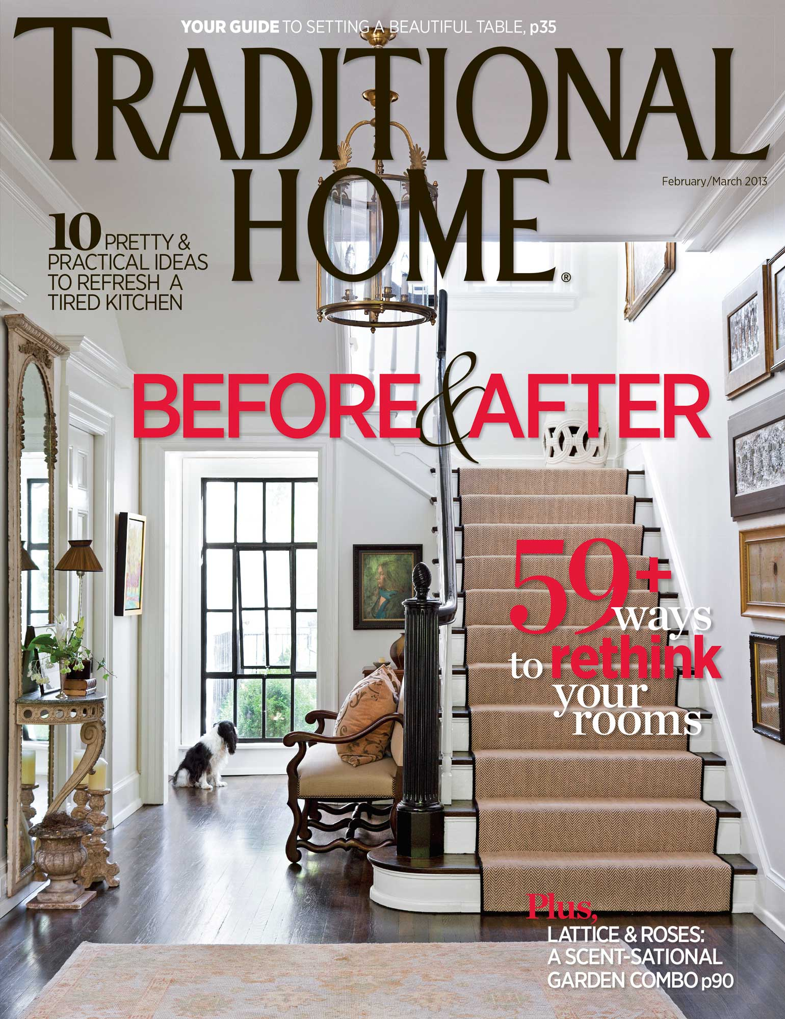Traditional Home Feb/March 2013