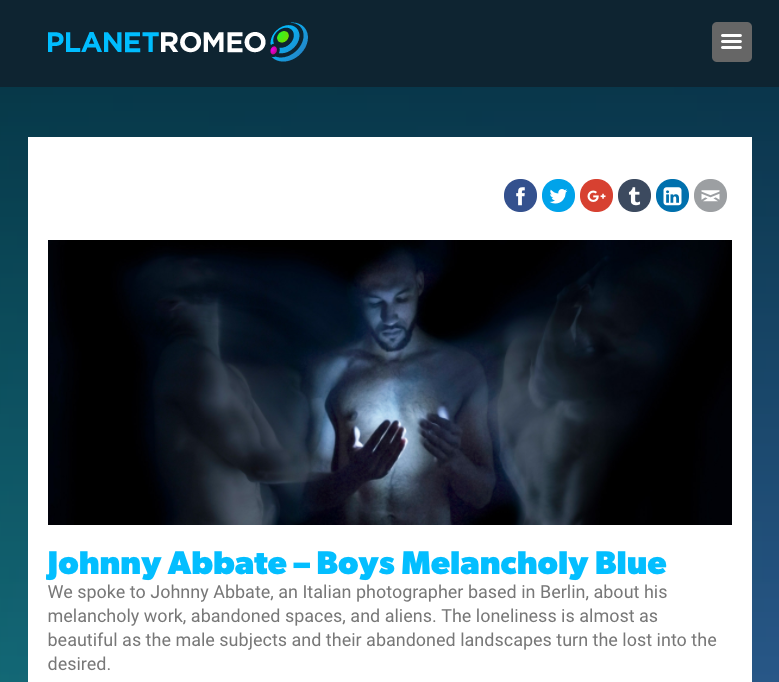 Interview for  Planetromeo Blog