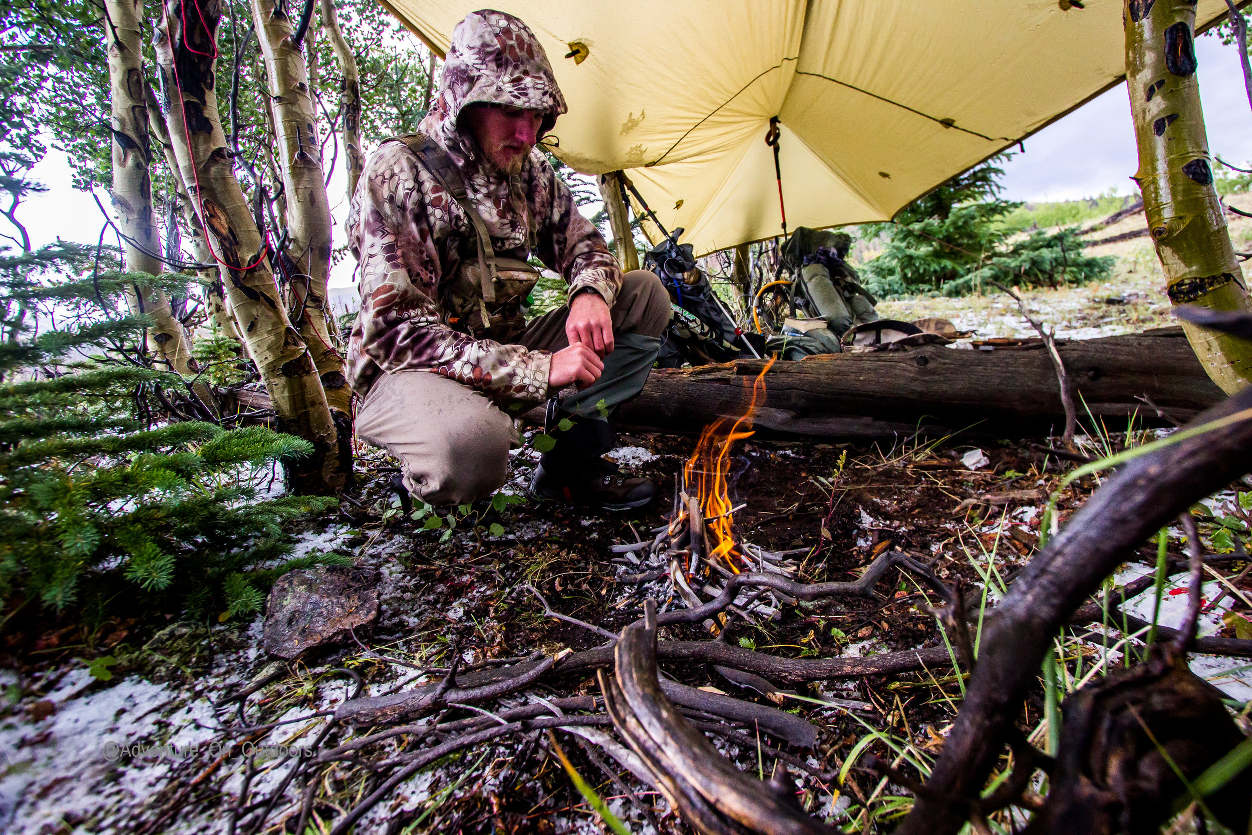 Luke Hail tarp fire Elk Camp.jpg