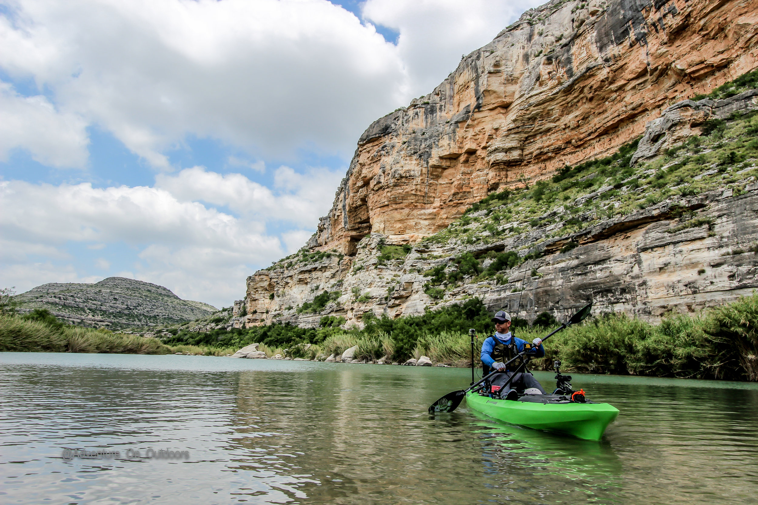 Robert Field on our most recent trip down the Pecos.