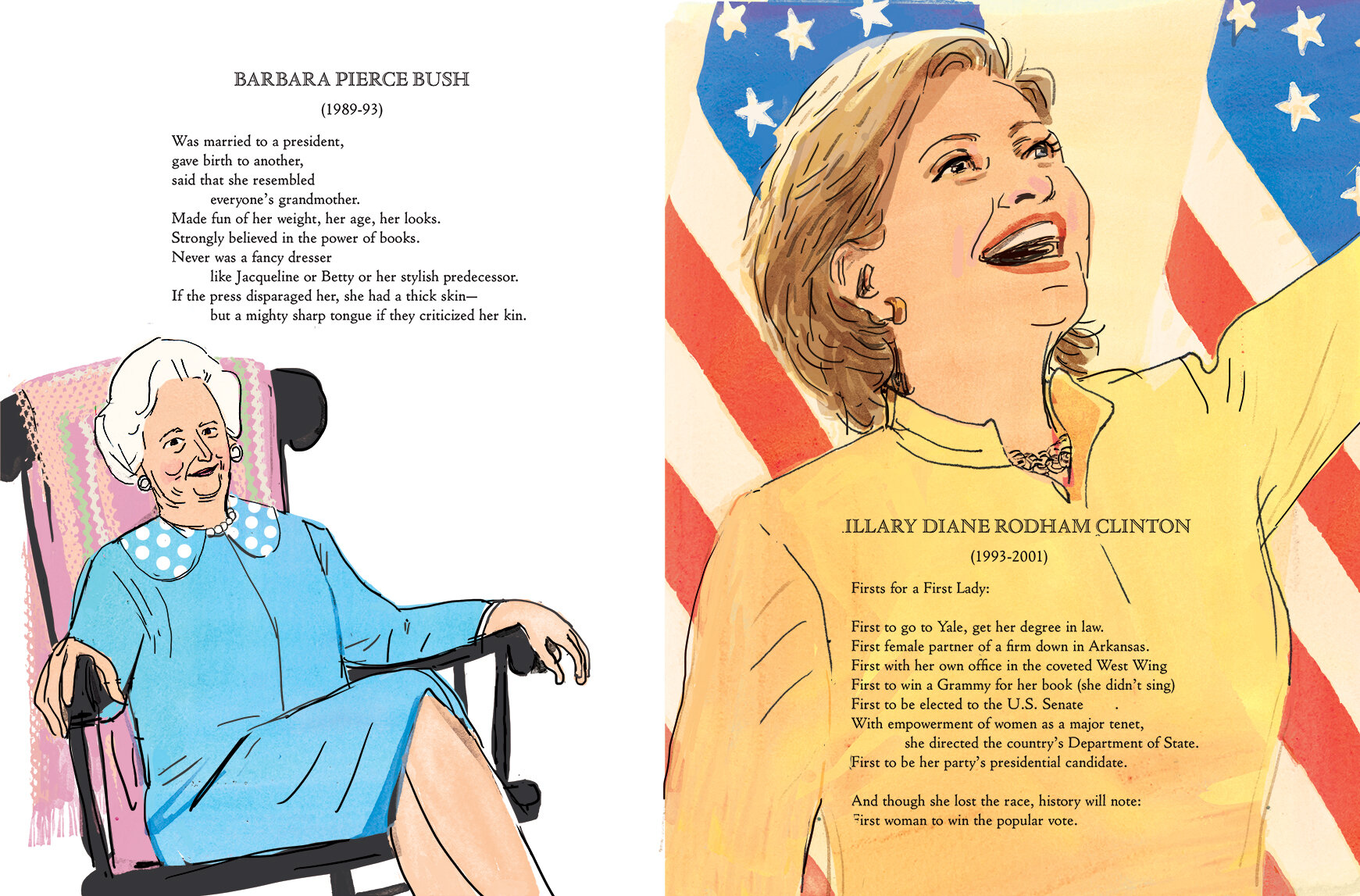 Endpaper illustrations