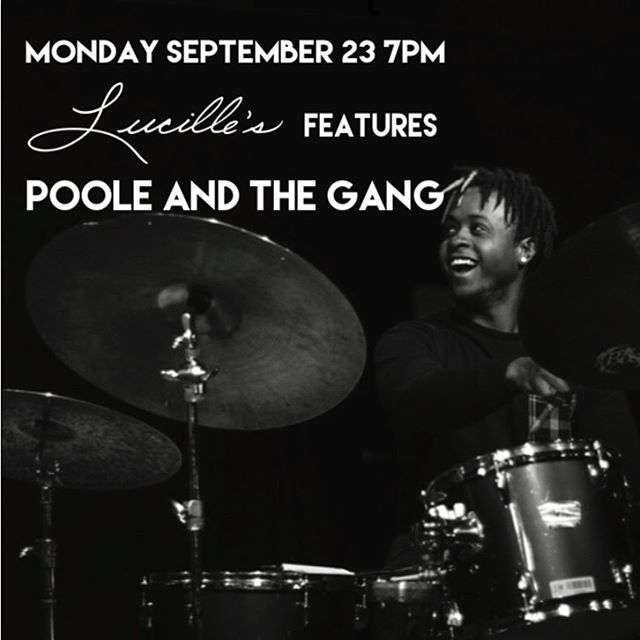 Tomorrow at 7pm @lucillesharlem @rubenfoxmusic and @bessiesuave Come through!